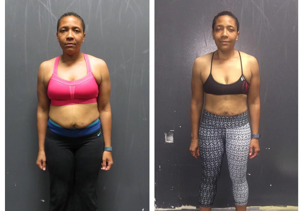 Leonica's 6 week transformation